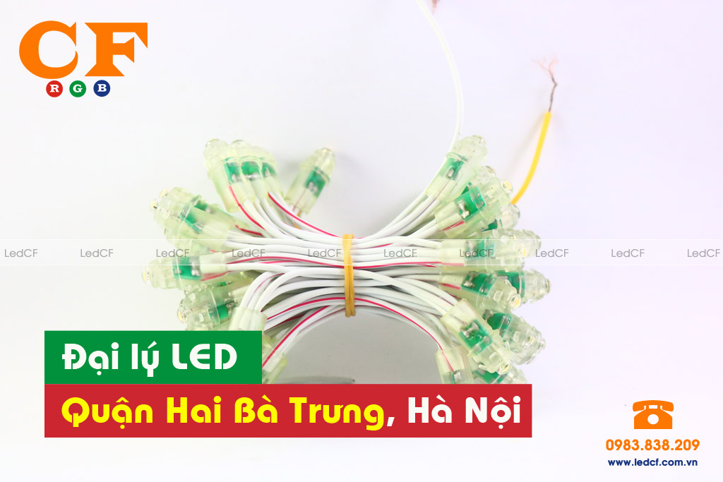 Đại lý LED tại đường Mạc Thị Bưởi, Hai Bà Trưng