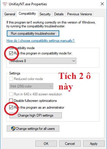 Cách sửa không gõ được tiếng việt trong phần mềm Ledshow