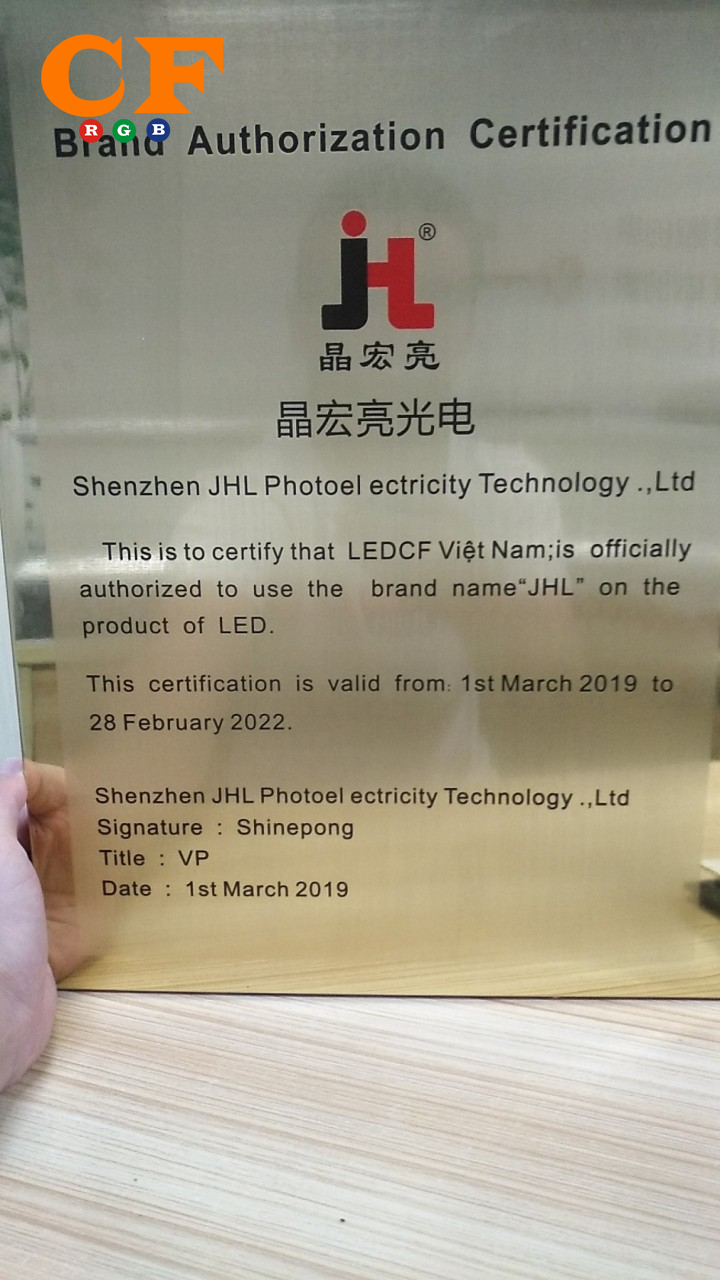 Led đúc F5/9mm JIYI 5v loại IP68