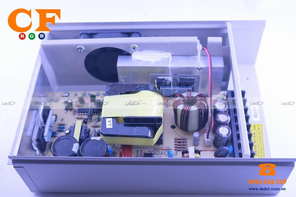 Bộ nguồn Led 5V 40A chống nước