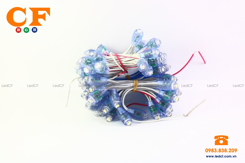 Cách đọc thông số kỹ thuật của led đúc F5/8 và ưu điểm
