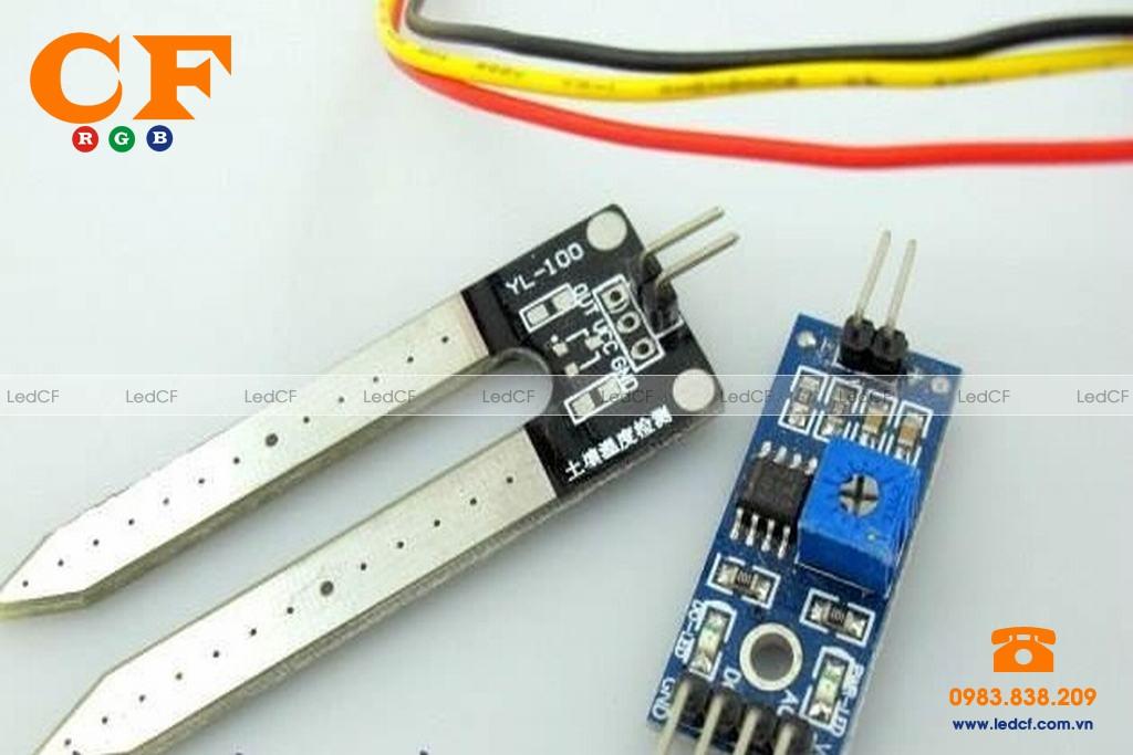 IC cảm biến nhiệt độ led ma trận