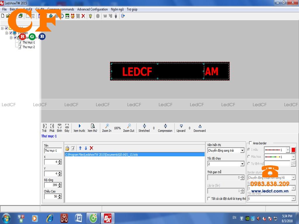 Các lỗi của phần mềm BX LEDSHOW và cách khắc phục