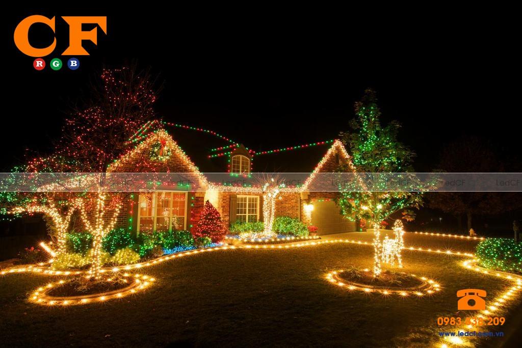 Tại sao nên dùng led đúc để trang trí nhà cửa, cửa hàng và cây xanh?