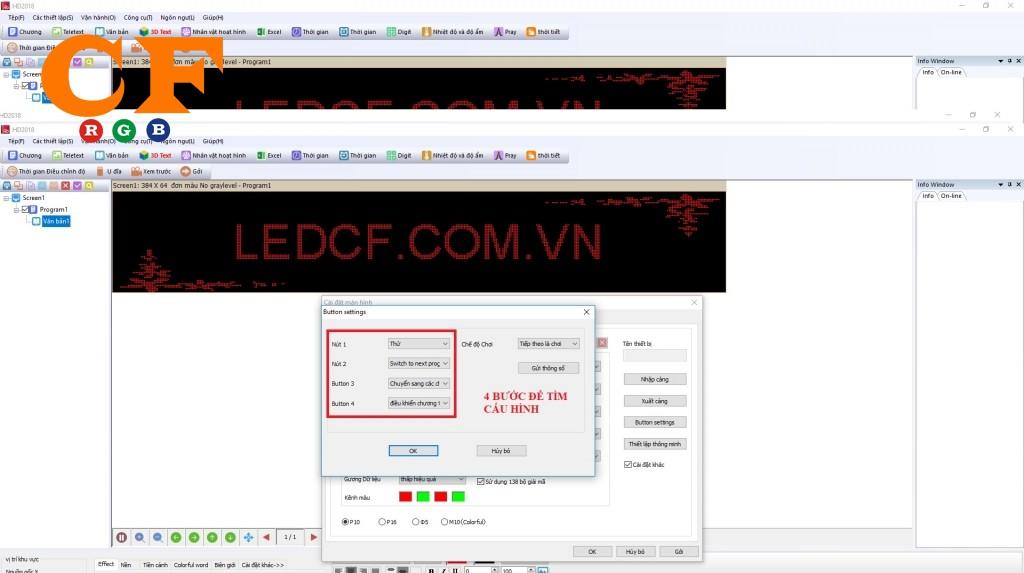 Tổng hợp Hướng dẫn + cài đặt + cấu hình bằng tay phần mềm HD 2018
