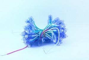 Led đúc phi 8 đế 12