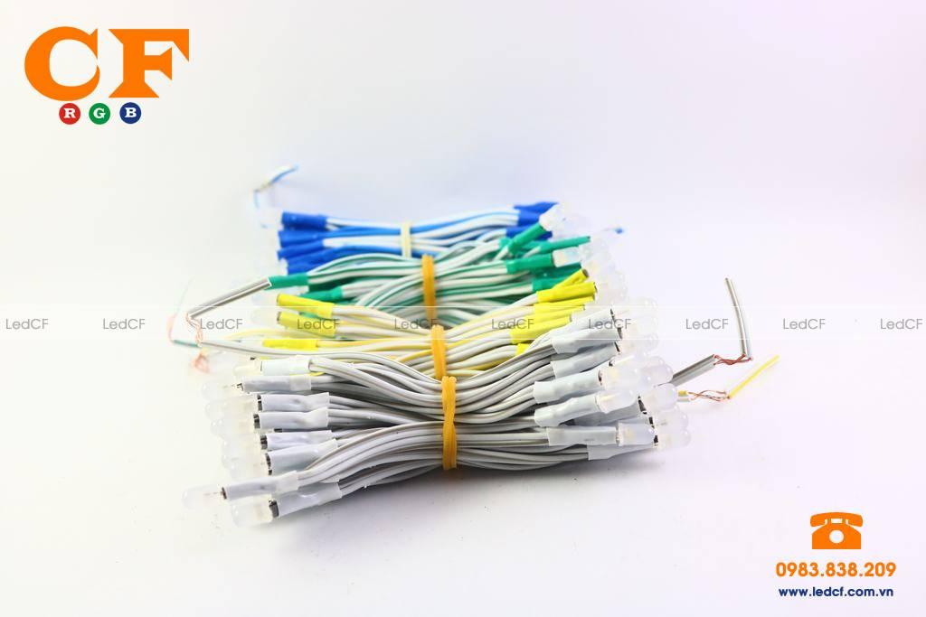 Hướng dẫn đấu nối LED liền dây, Led đúc sử dụng mạch vẫy LED4U
