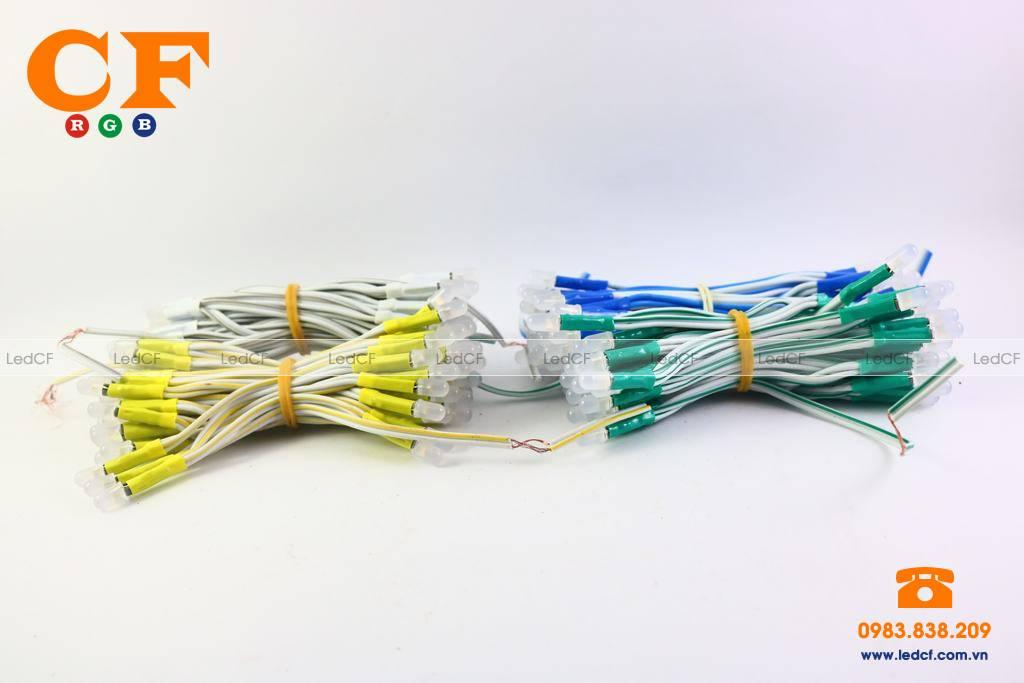 LED LIỀN DÂY 5MM và đấu nối mạch led vẫy 4U