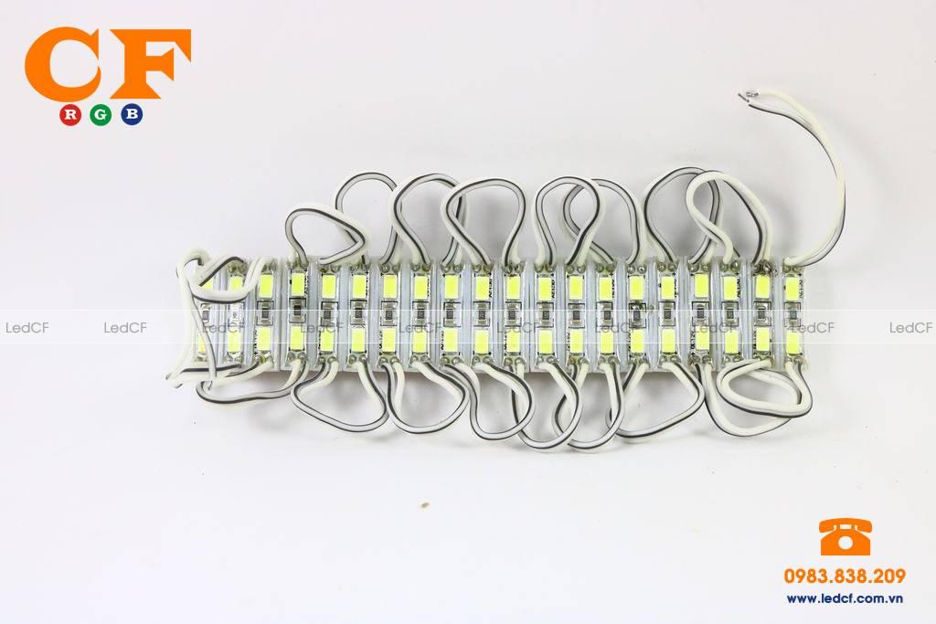 LED HẮT 3 bóng 3609 các màu và đấu nối mạch led vẫy 4U
