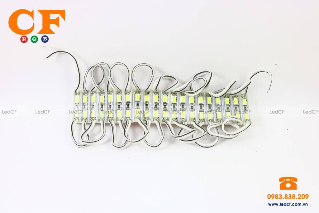 Text bóng LED HẮT 3b 5730 các màu và đấu nối mạch led vẫy 4U