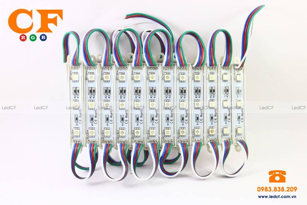 Khám phá sự độc đáo của LED hắt 7 màu