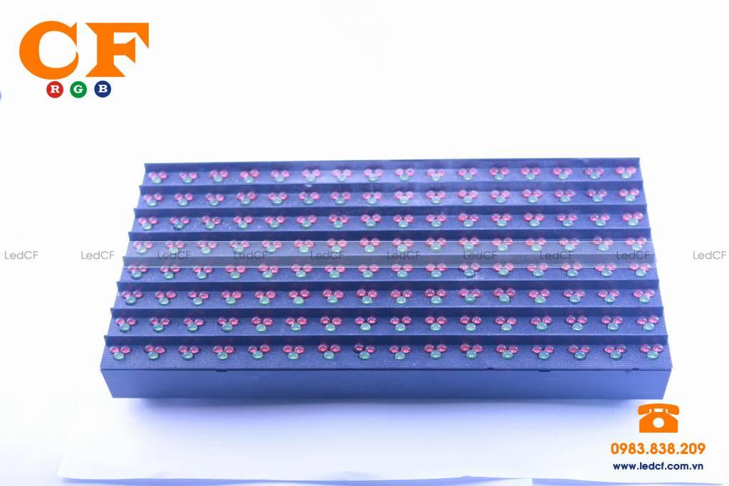 Text LED MA TRẬN P16 3 màu kiểm tra độ sáng và đấu nối