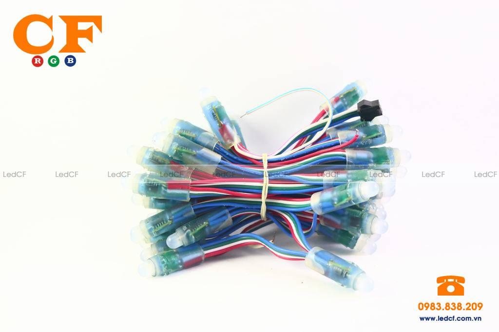 Đấu nối LED FULL COLOR 6803, LED NHÁY THEO NHẠC