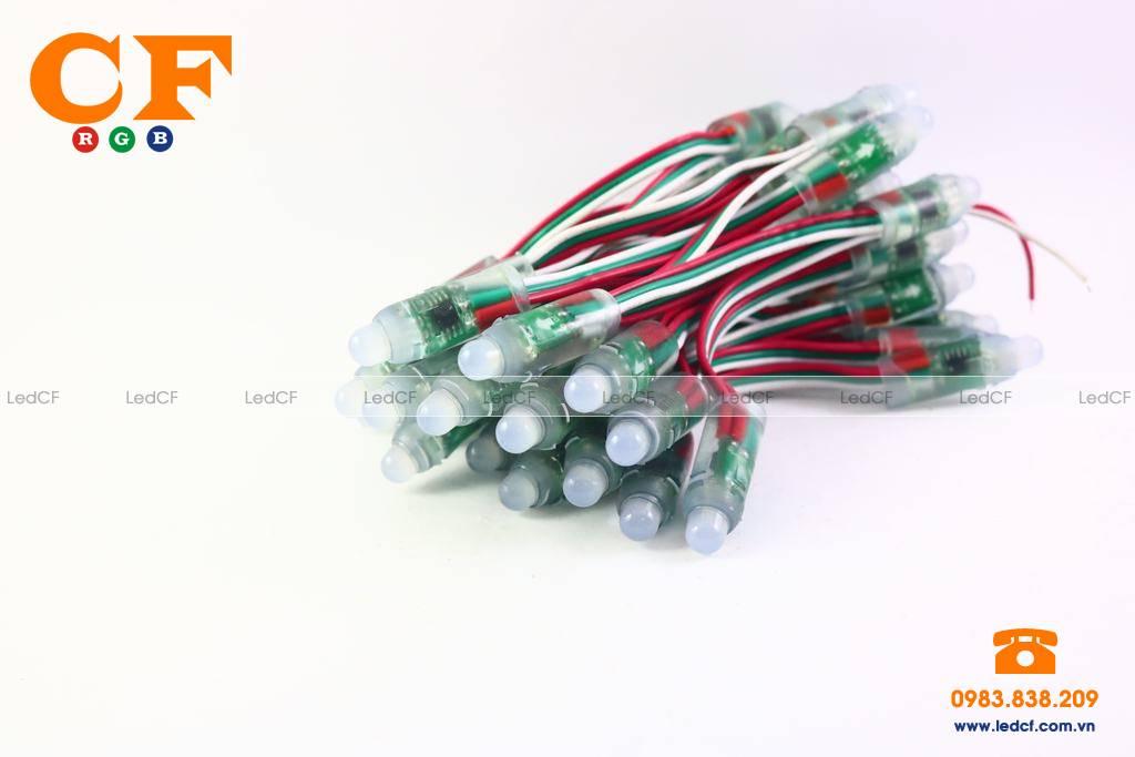 Mạch TEXT bóng led full color và kiểm tra sơ đồ đi dây