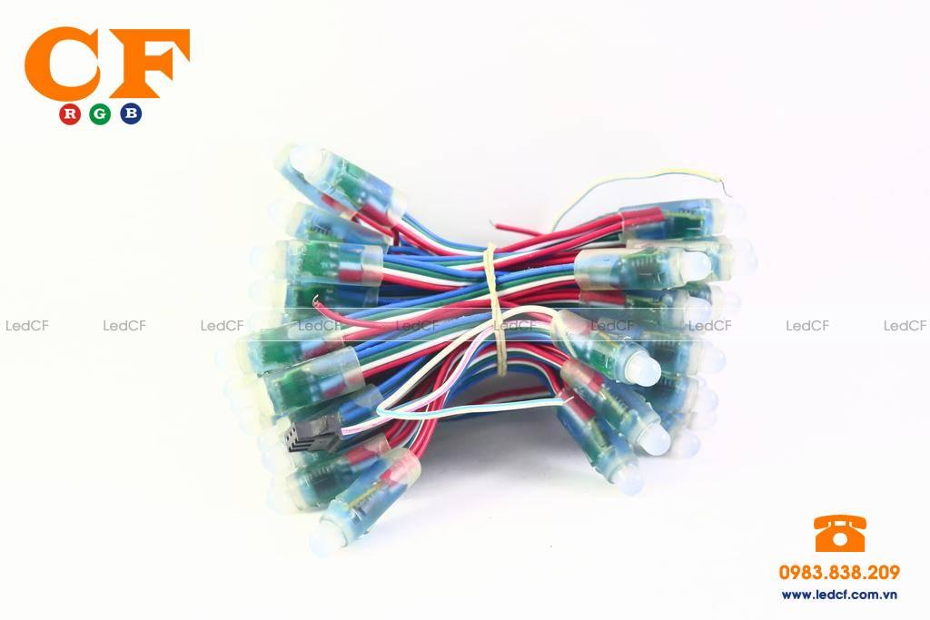 Hướng dẫn đấu nối LED FULL COLOR không cần mạch điều khiển