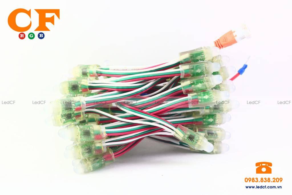 Hướng dẫn đi dây bạch tuộc phòng KARAOKE dùng led full color