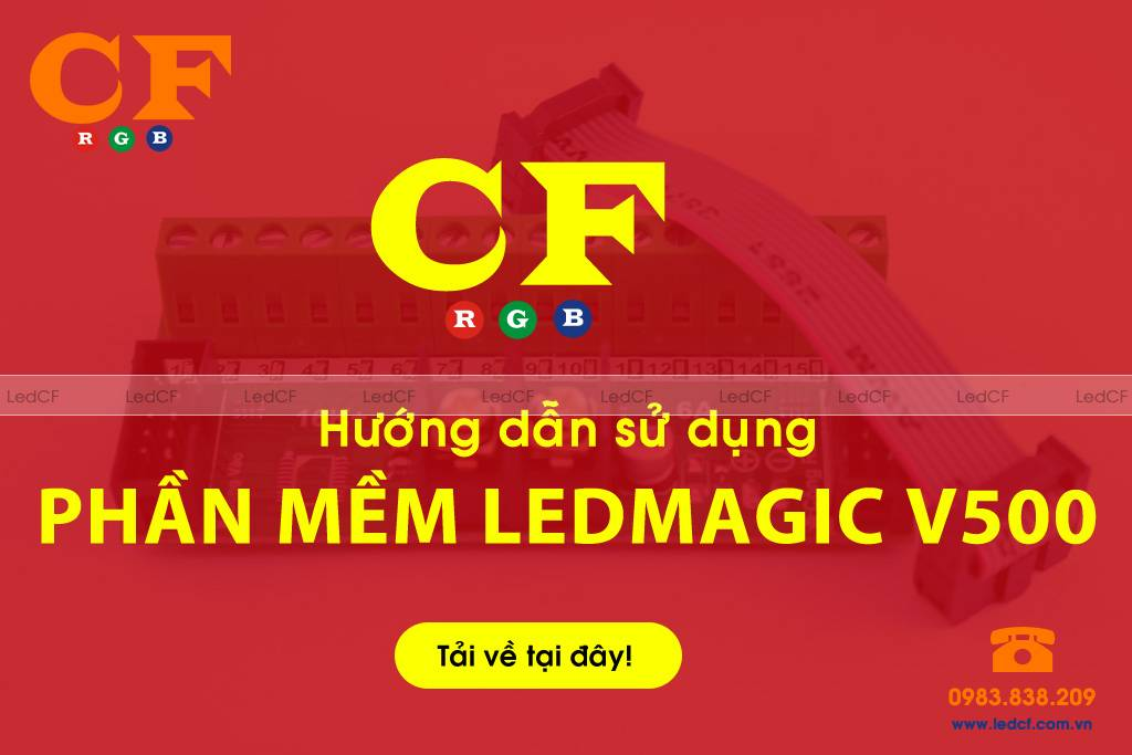 Phần mềm Ledmagic V500