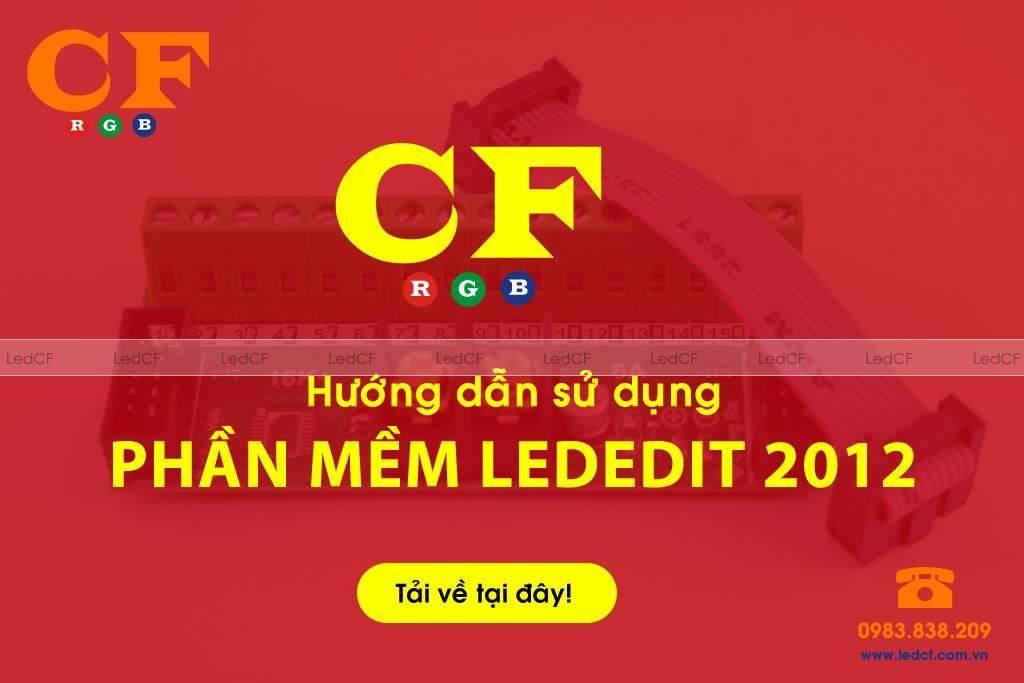 Phần mềm Lededit 2012