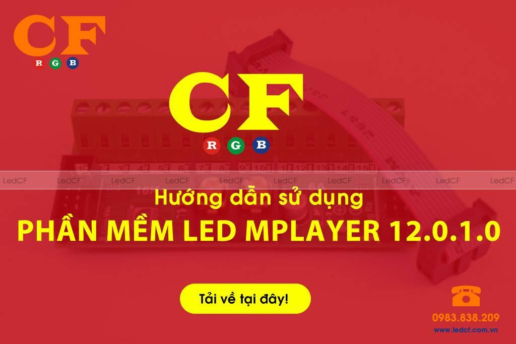 Phần mềm Led Mplayer 12.0.1.0
