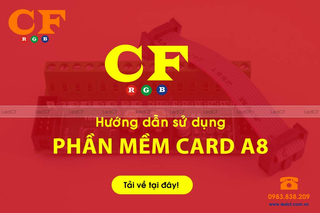 Phần mềm card A8