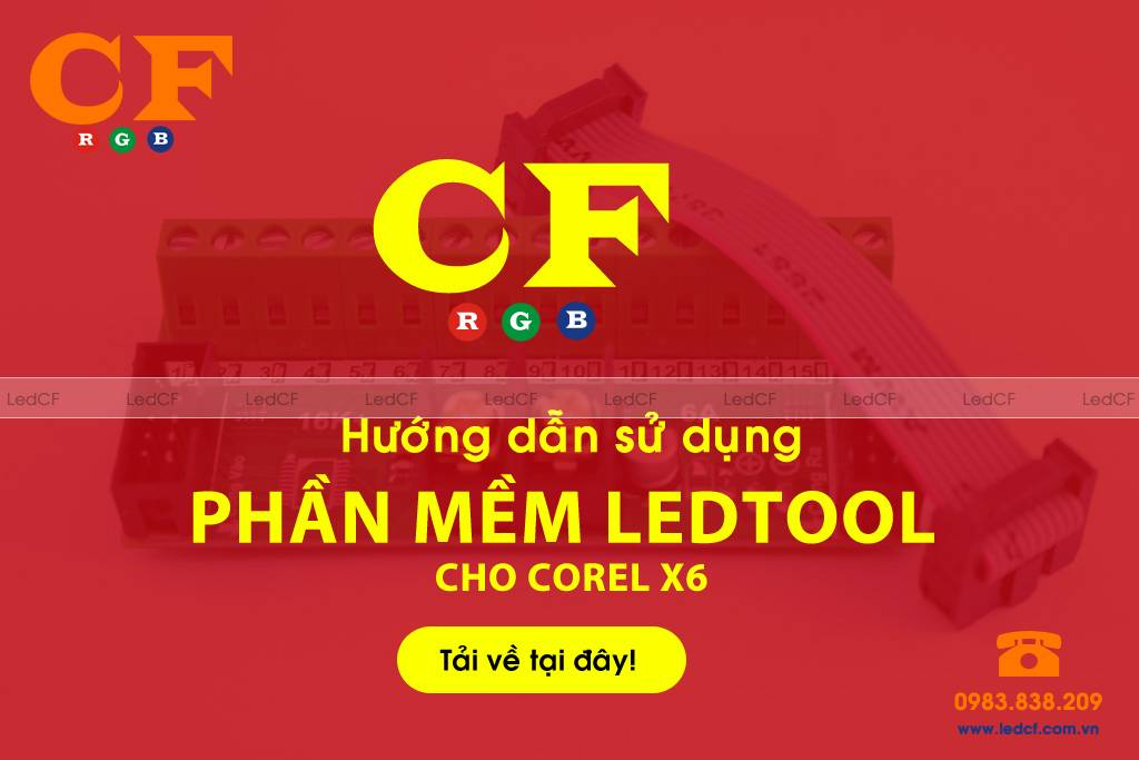 Phần mềm Ledtool cho corel x6