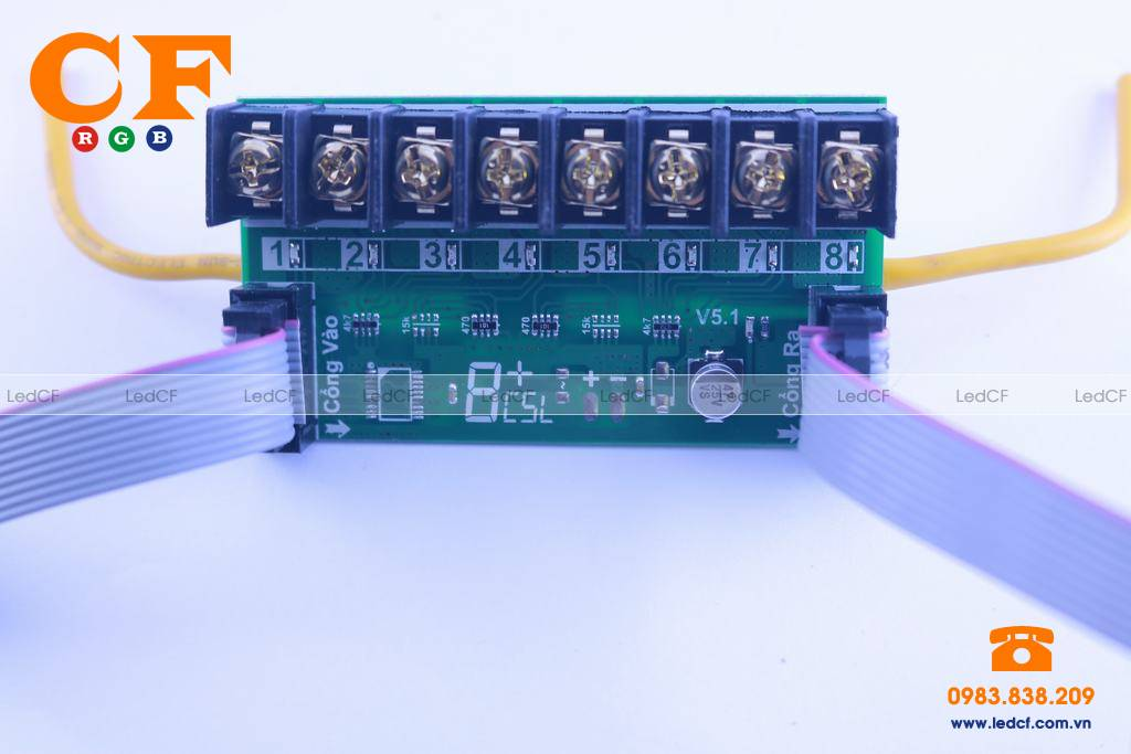 Tìm hiểu về mạch LED 8 kênh