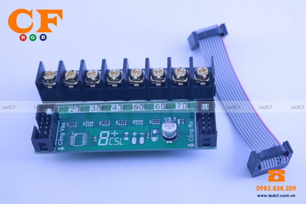 Công dụng về mạch led 8 kênh mà bạn chưa biết