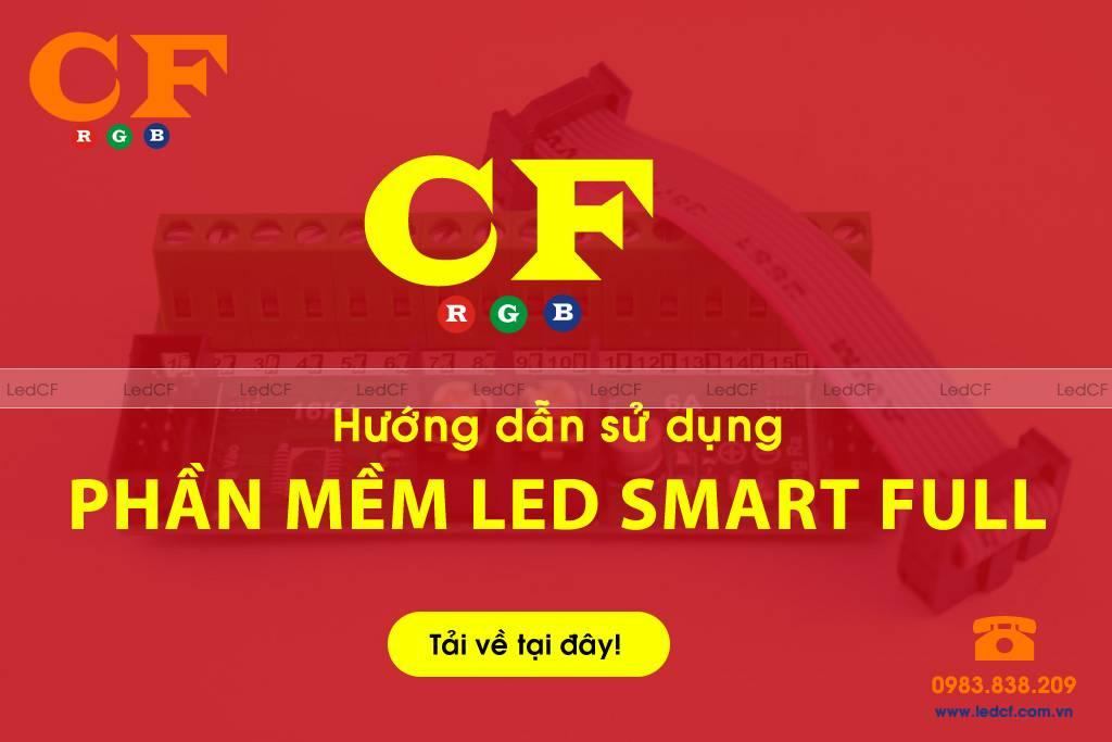 Hướng dẫn sử dụng phần mềm LED NHÁY THEO NHẠC SMART FULL