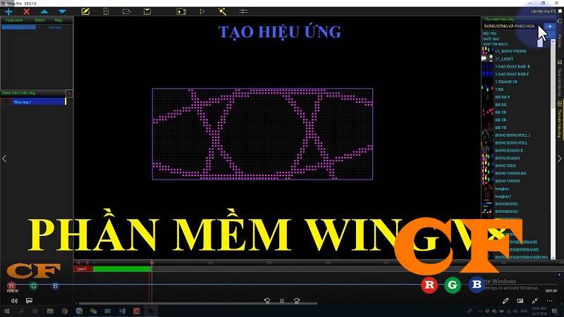 Hướng dẫn sử dụng phần mềm WING V8 mới nhất 2019 - LEDCF Việt Nam
