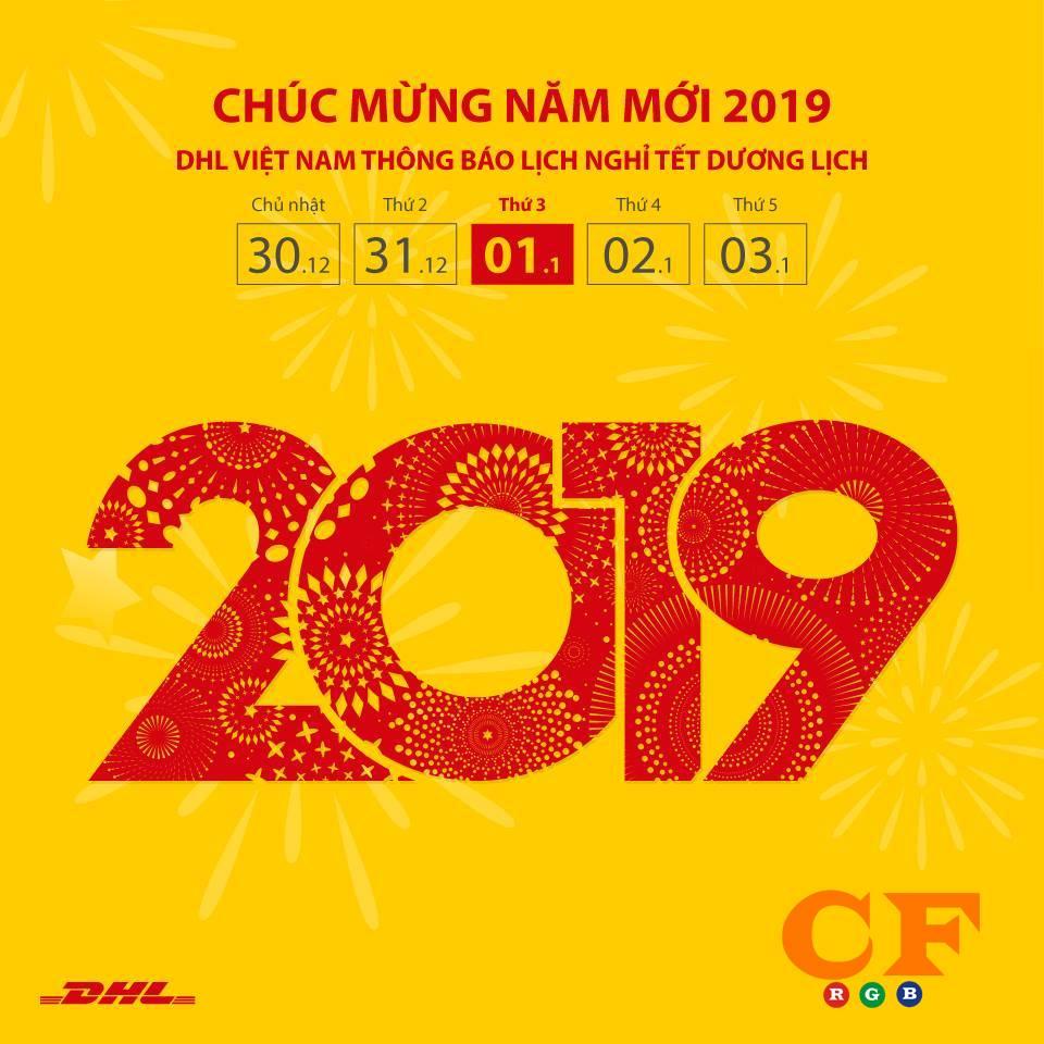 Thông báo lịch nghỉ TẾT 2019 tại LEDCF Việt Nam