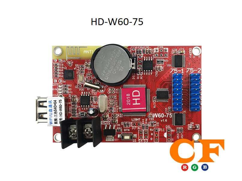 Hướng dẫn chạy điện thoại điều khiển màn hình led p5 card HD- LEDCF Việt Nam