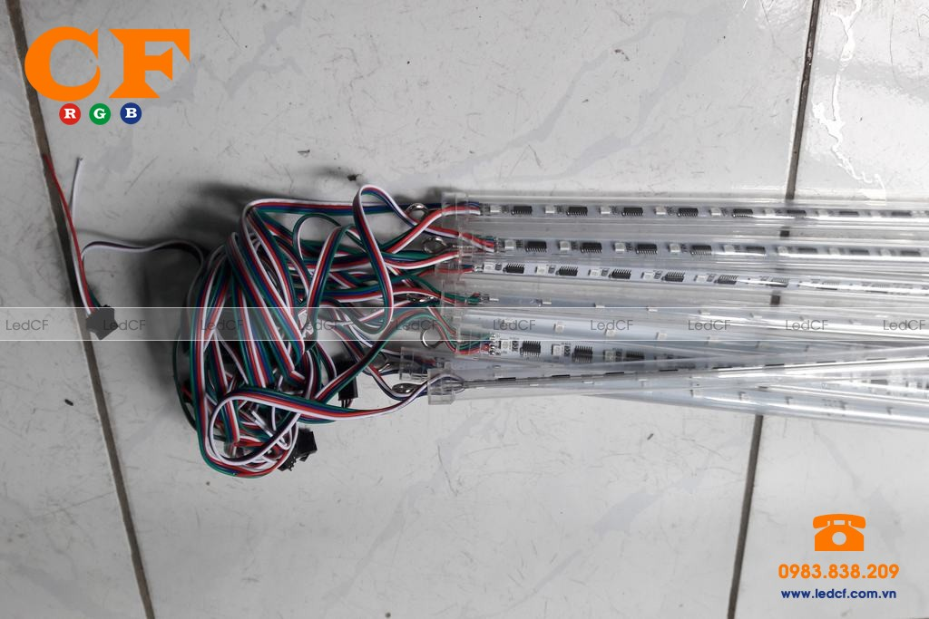 Led ống full color 3d 9803