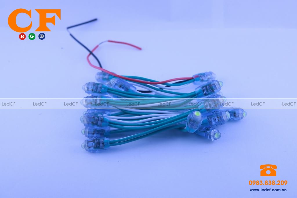 Led đúc 5mm đế 9mm